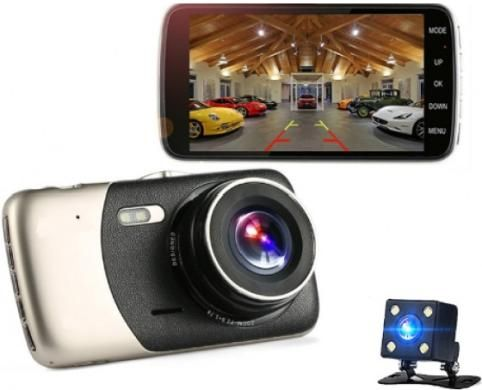 Видеорегистратор с камерой заднего вида Element-5 Т84