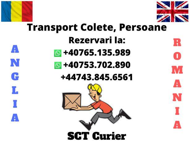 Transport Persoane, Colete Anglia Leeds, Newcastle, Birmingham,