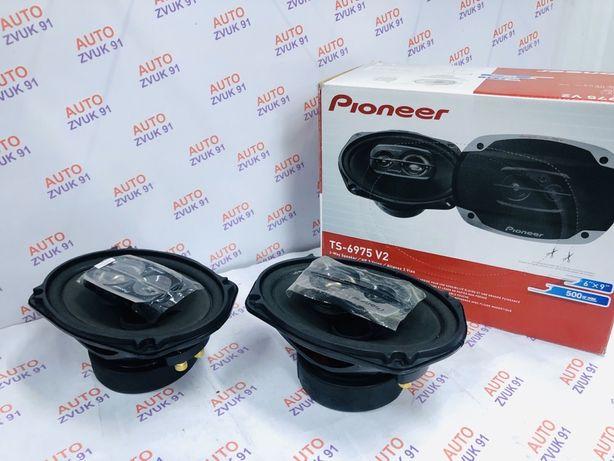 Мощные колонки динамики бренд Pioneer V3  650 watt. Басовые калонки.