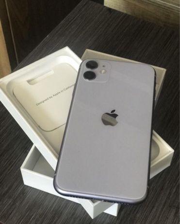 Айфон 11 64 гб эмкость 99% почти новый