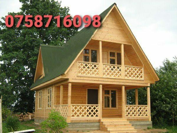 Executam case ,cabane foișoare,terase din lemn