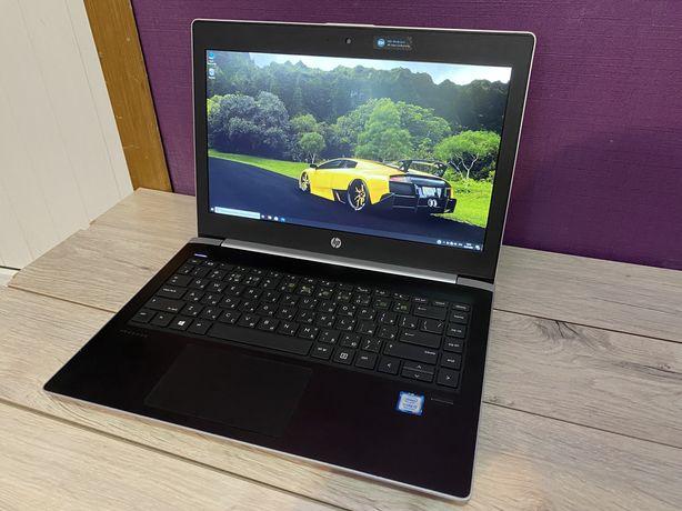 Бизнес лаптоп HP core-i3 7пок отличный ноут для работы