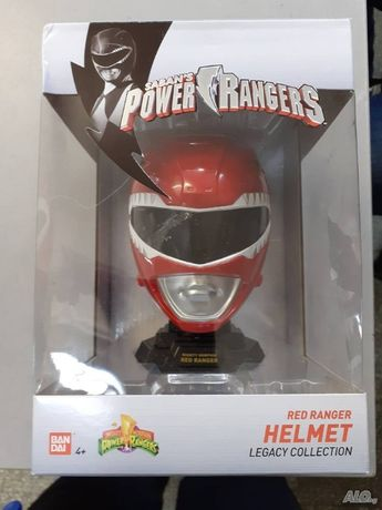 "Фигурка Saban""s Power Ranger Helmet- Red, Bandai!"