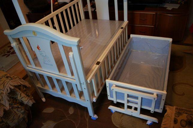 Детский кровать + люлька 2 в 1 ТОРГ