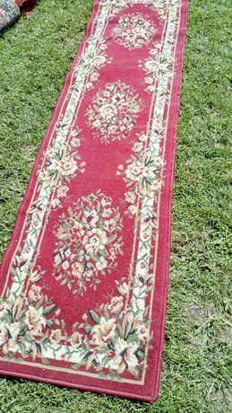 200см.50см.КРАСИВА пътека(килим) в червен цвят 007