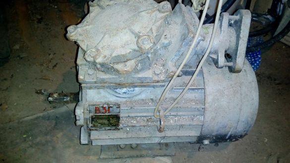 ТРИФАЗЕН двигател7,5kw. 108кг.