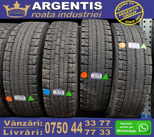Set 4 Anvelope Camion 13/R22.5 (Cod S75)