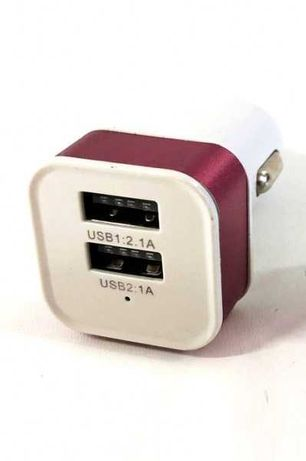 Зарядно за запалка на кола с 2 USB порта адаптор