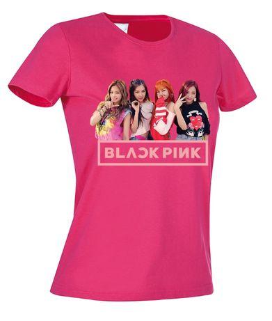 ДЕТСКИ тениски BLACK PINK / K POP BTS! Или поръчай с Твоя идея!