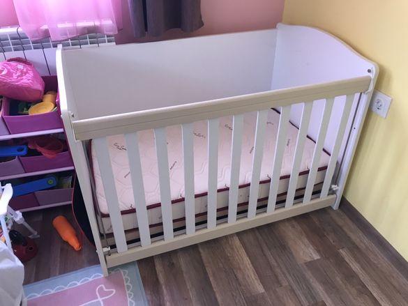 Бебешко легло с матрак Pierre Cardin