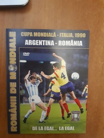 Meciul Romania-Argentina de la CM 1990