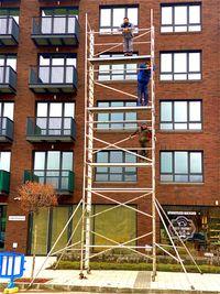 ПОД НАЕМ ново алуминиево скеле до 9 м работна височина