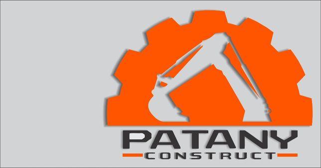 Utilaje de constructii : buldoexcavator, excavator, miniexcavator