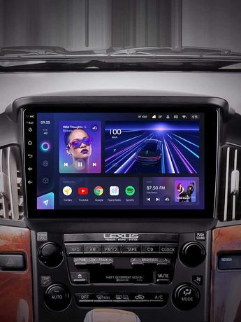 Андроид автомагнитолы Teyes, оригинал. Рассрочка/кредит Lexus RX300