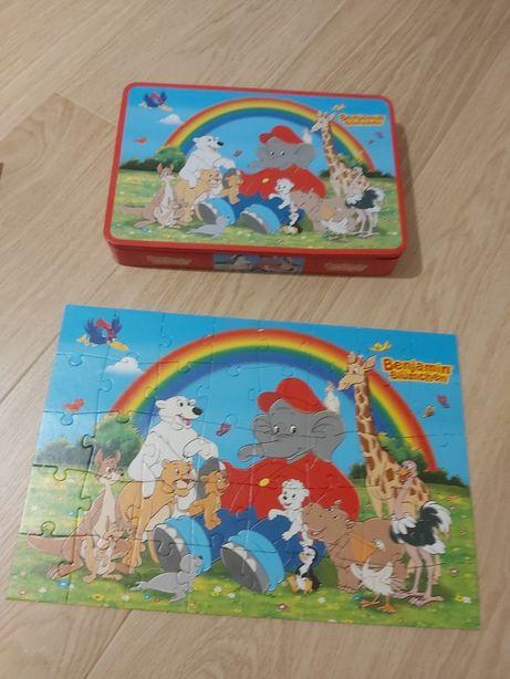 Puzzle- uri Winnie the Pooh si elefantelul Benjamin, stare f buna
