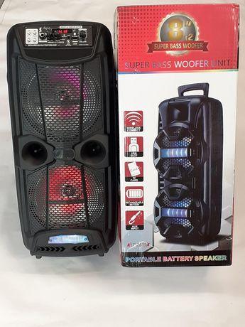 Блютуз Караоке Колонка с Микрофоном.Bluetooth speaker.буфер.колонка