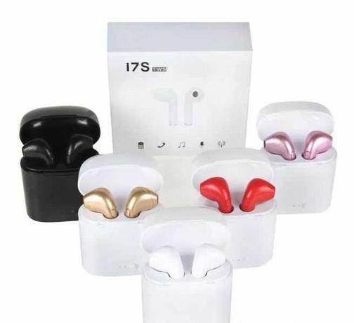Безжични Bluetooth слушалки i7 S TWS с Power Bank кутия