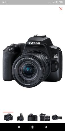 Canon EOS 250D Black