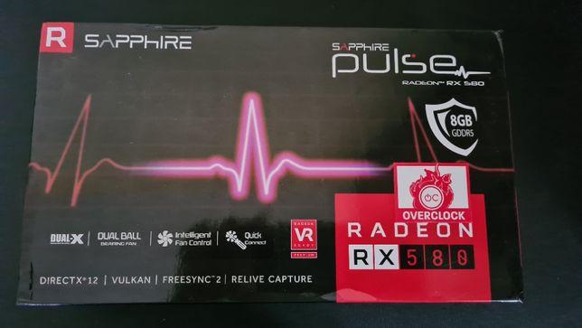10x Cutii placa video Sapphire RX 580 PULSE 8GB GDDR5 256 Bits