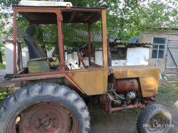 Трактор т25 на ходу