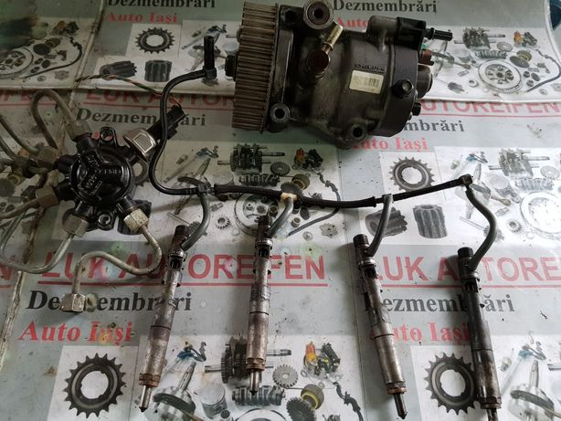 Injector injectoare pompa injecție rampa presiune Dacia Logan 1.5 DCI