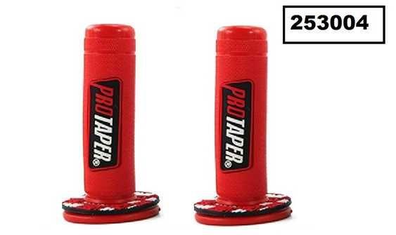 Червени PROTAPER дръжки за мотор (2бр.)