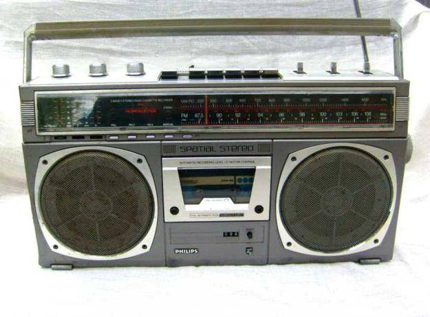 Radio casetofon/radiocasetofon stereo spatial Philips  D8418