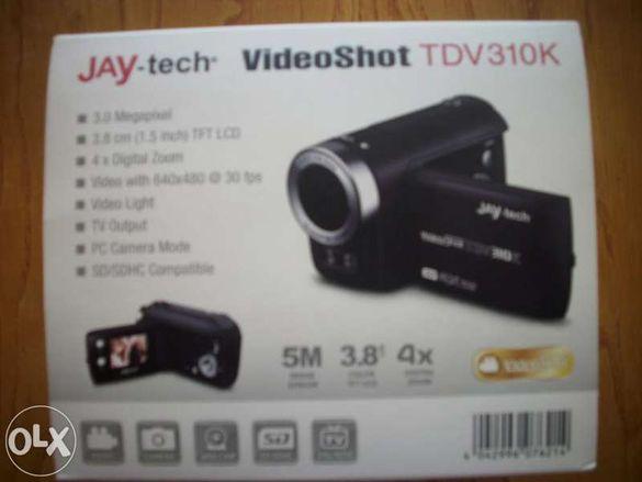 Продавам изгодно нова видеокамера,комплект с кабели и диск