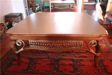 роскошный стол позолота под антиквариат