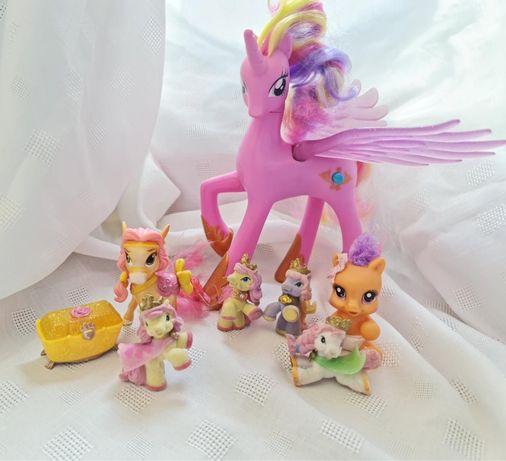 набор пони и лошадок
