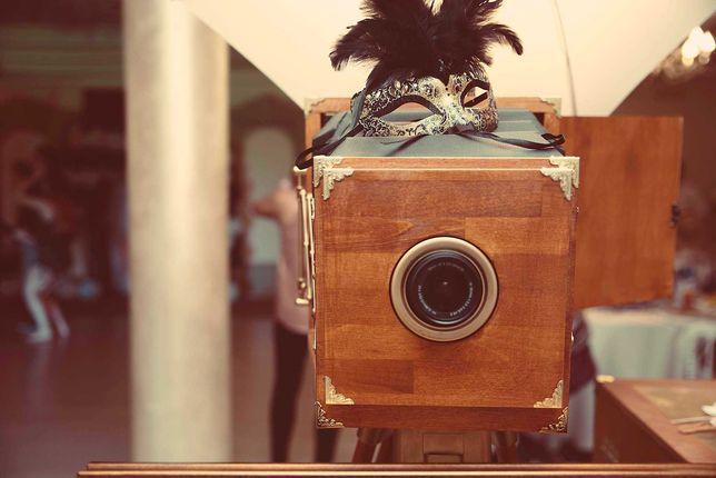 Cabină foto vintage