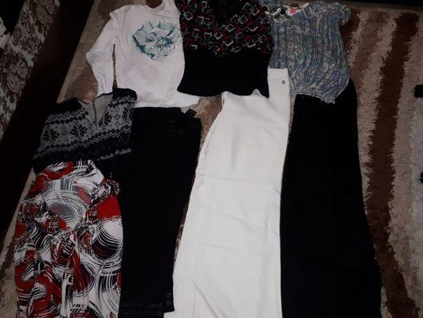 Пакет вещей (блузки, джинсы), на 48/50 р. Турция.