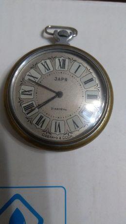 Часы карманные , будильник СССР, советские