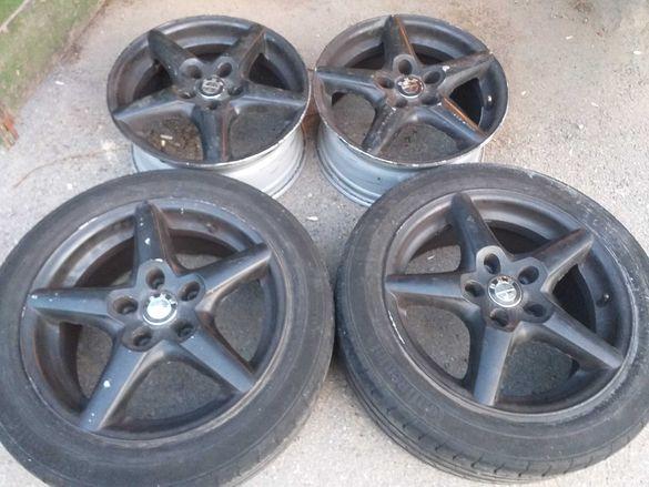 5x120/16 с гуми Bmw E36 E46 E90 T5 T6 5х120/16 Бмв Е36 Е46 Е90 Т5 Т6