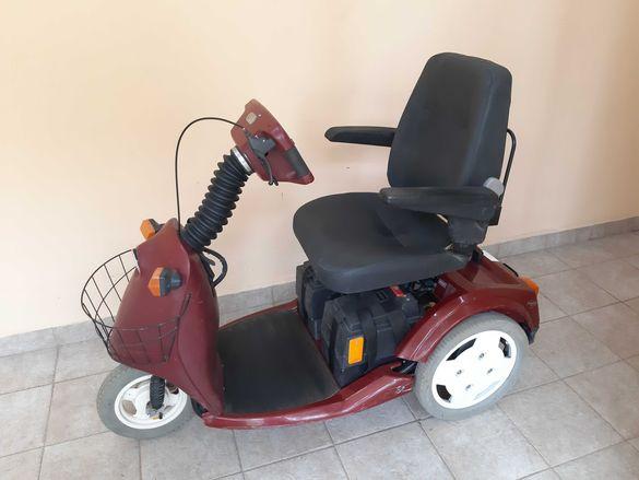 Акумулаторна инвалидна количка - скутер Trophy 5 +ГАРАНЦИЯ+ТРАНСПОРТ