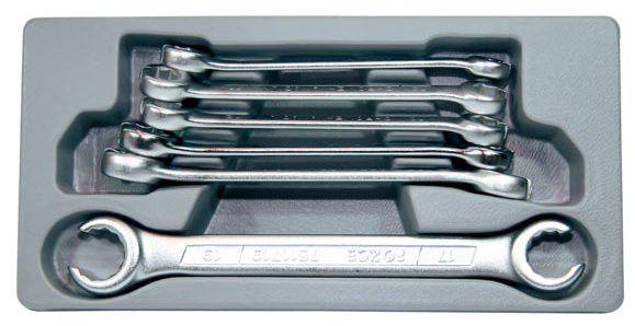 FORCE Рязани ключове за спирачни тръбички к-т 6 части (5066)