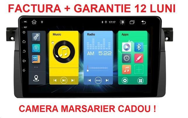 Navigatie Android BMW Seria 3 E46 , Display 9 inch , Noua Garantie