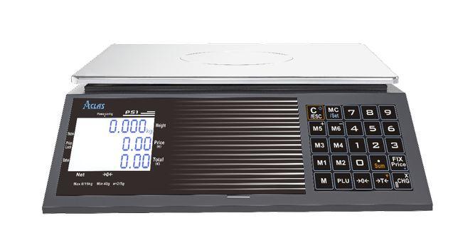 Cantar piata comercial omologat ACLAS PS1B 15/30kg