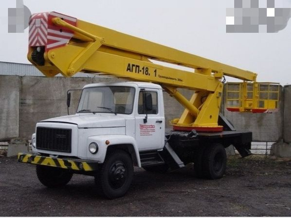 Услуги Автовышки АГП18м