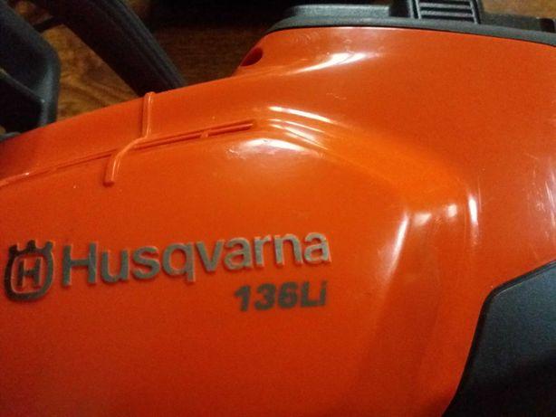Druba  husqvarna  136LiXp pe acumulator,baterie