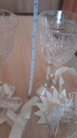 Ниски сватбени чаши