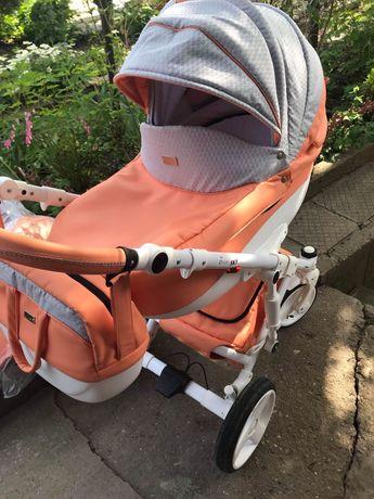 Бебешка количка SKY NEO ORANGE LOVE - NIO 2018