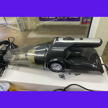 Автопылесос 4 в 1, насос воздушный компрессор,  давления шин