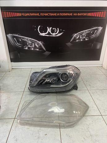 Mercedes W166 GL Ремонт Рециклиране Фар Фарове
