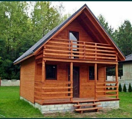 Vând cabană din lemn 9 x 5 preț 6000 de euro