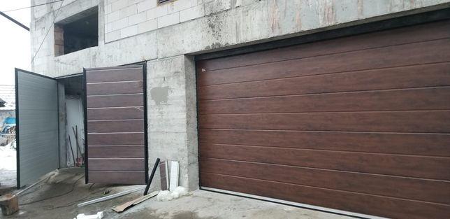 Ușa de Garaj *Batanta L3400xH2100 Nuc - Montata jud Mureș