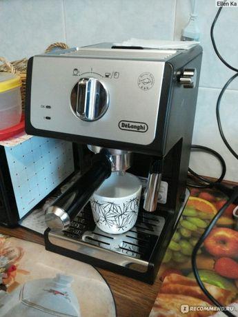 Кофемашина. Кофеварка delonghi ecp 33.21