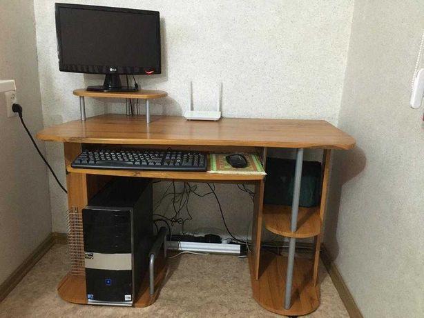 Компьютер в комплекте, стол в подарок.