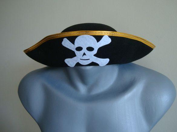 детска пиратска шапка