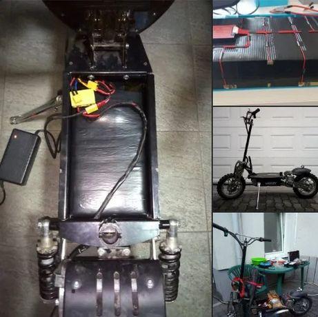 Baterii Litiu pentru Biciclete, Trotinete, Scutere Electrice